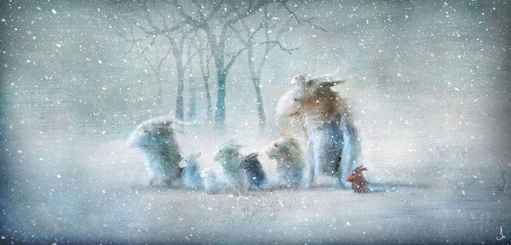 Zima zima zima, pada pada śnieg ,,,